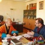 Benjamin Johns: I had a great idea for film when I heard about Natsagdorj.D, Khamba Lama