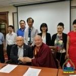 """Манба Дацан төв Тайваны """"Nice"""" групптэй хамтран ажиллах гэрээг байгууллаа"""