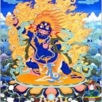 Vajrapani saved us all from great danger and blessed us